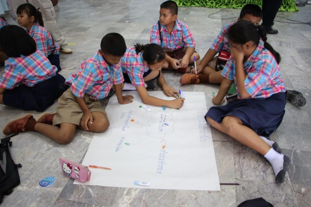 โครงการอบรมโครงการโรงเรียนสีขาวปลอดยาเสพติด